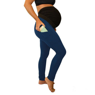 Women Maternity Pregnancy Waist Leggings
