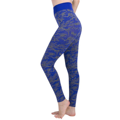 Women Solid High Waist Push Up Energy Seamless Sport Tight Leggings