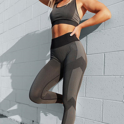 Sports Tights Running Control High Waist Leggings