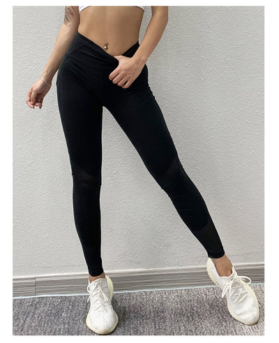 Mesh Seamless Leggings