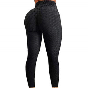 Black Push Up High waisted anti-cellulite leggings