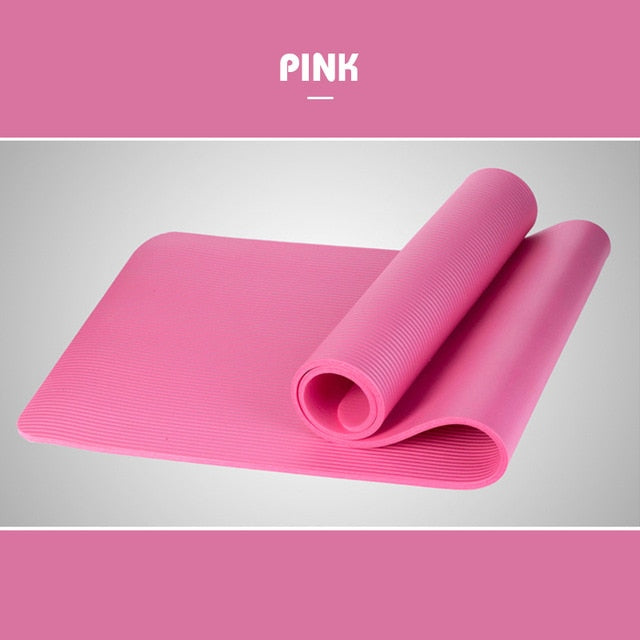Women's Eco-friendly yoga mat for beginner 1830*610*10mm