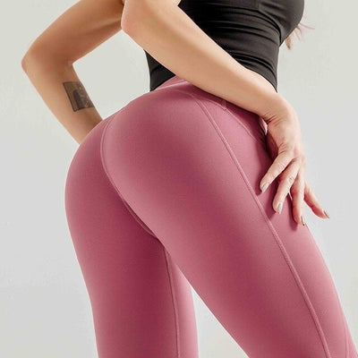 High Waist Tummy Control Tights Slim Seamless Sport Leggings