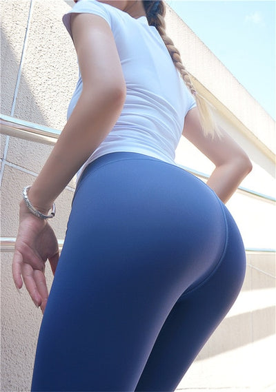 Women's High Waist  Sporty Capri Leggins