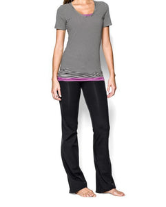 11-black yoga pants flare Strethcy Loose