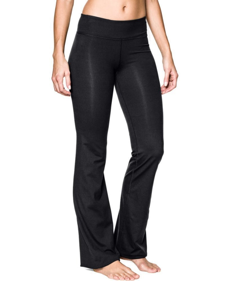 111-black yoga pants flare Strethcy Loose