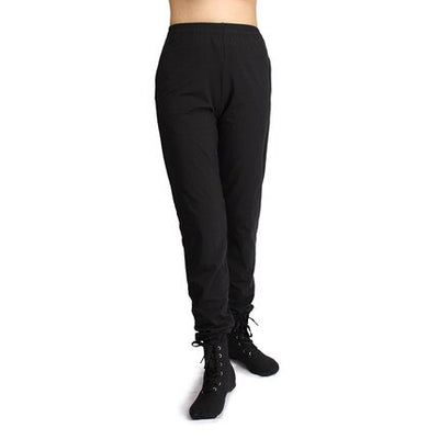 Black yoga harem pants Stretchy Top Quality Loose Long
