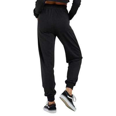 111-Women's high waisted black yoga pants with Pockets