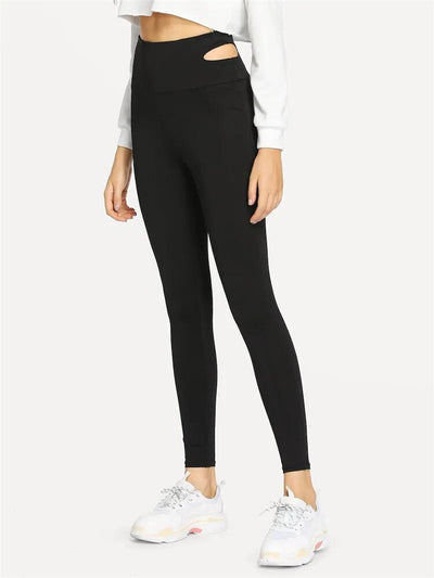 womens dressy black yoga pants