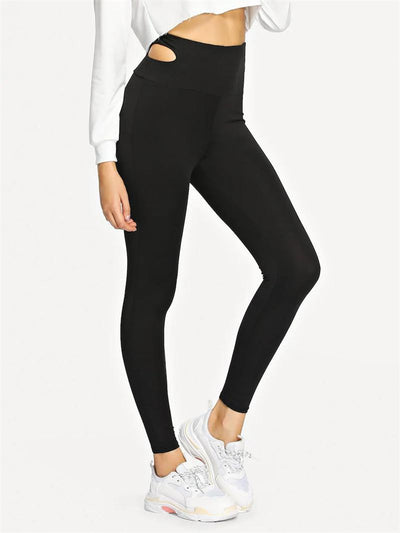 a1-dressy dress black yoga pants