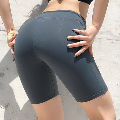 Skinny Breathable Women's Yoga Shorts