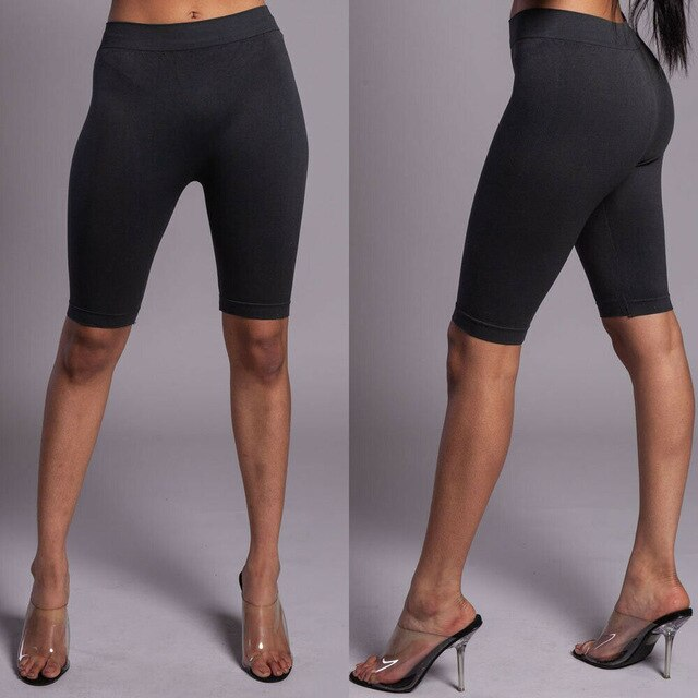Women's High Waist Fitness Shorts Leggings
