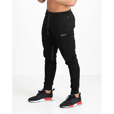 a-Men's black/navy training sweatpants