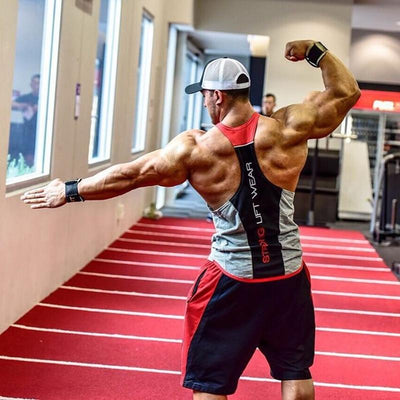 Male Bodybuilding sleeveless shirt Tank top