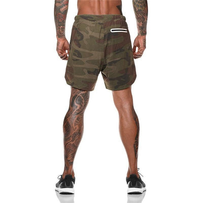Men's 2 in 1 Sports Shorts
