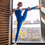 1PC Yoga Ballet--Dance Jumpsuit