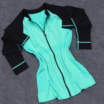 Women  Long Sleeve Zipper Jacket