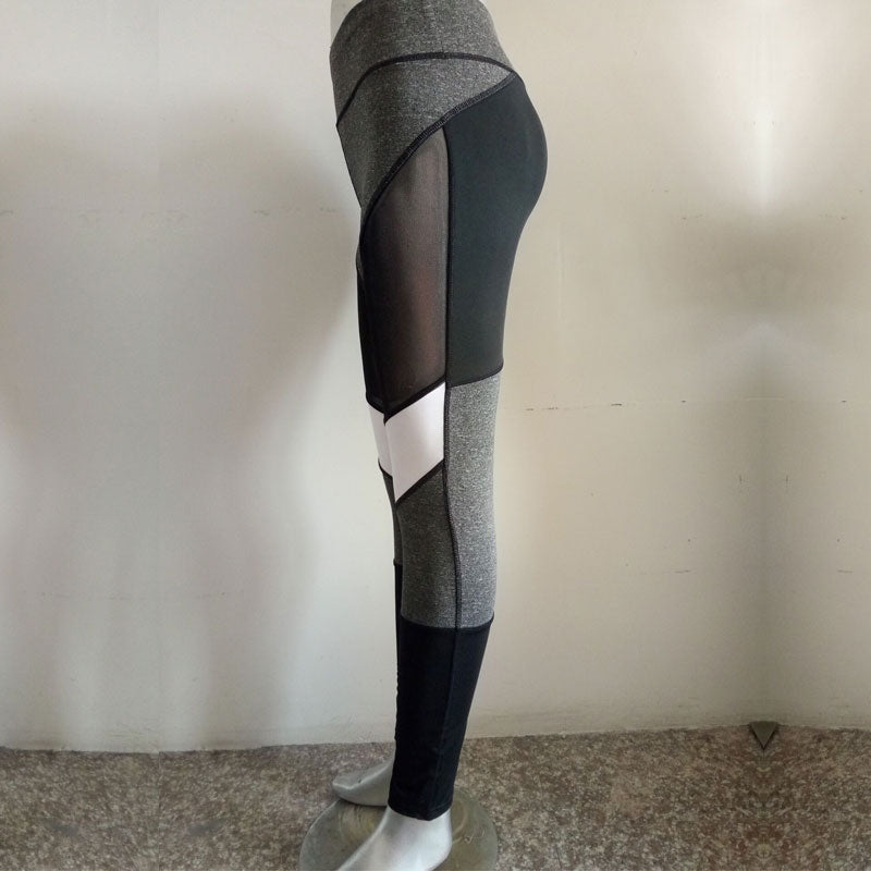 Women Mesh Tights Quick Drying Sportswear Legging