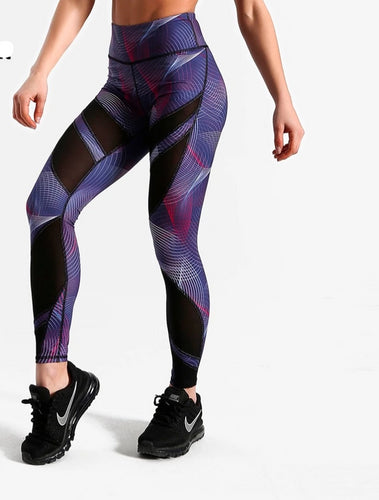 Female Quick Dry High Waist High Elasticity Leggings