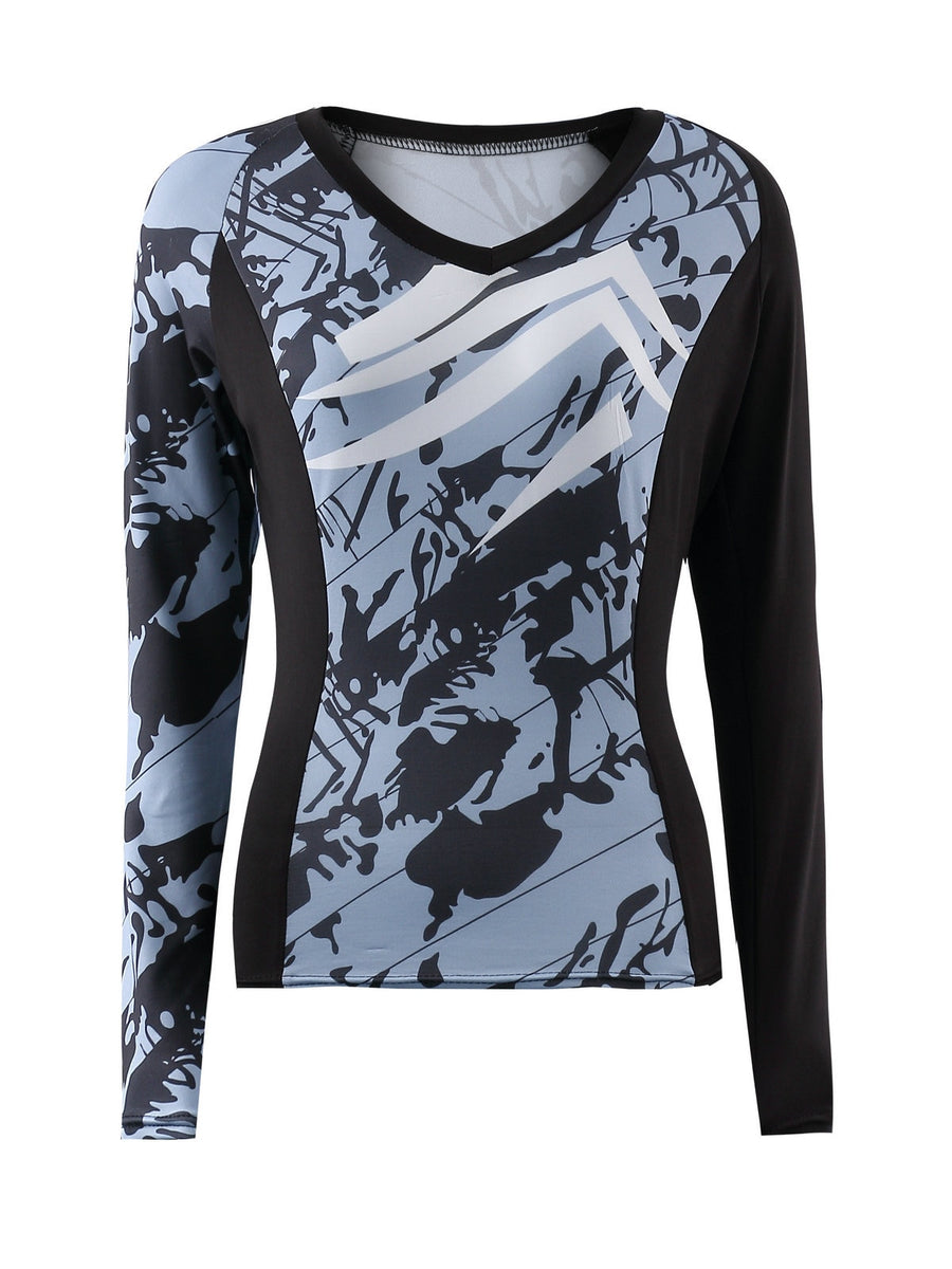 2019 New sexy camouflage activegirl Running Set