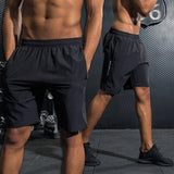 Men Quick Dry Workout Bodybuilding Spandex Shorts