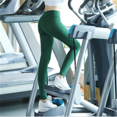 Women Sexy Bodybuilding High Waist Leggings