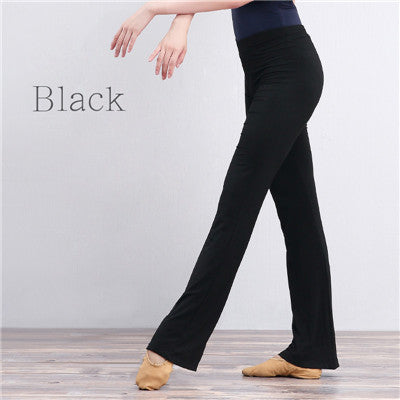 womens yoga pants Black Flare