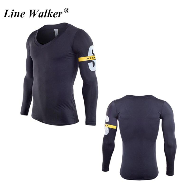 Men Long Sleeve Tops Training Clothes