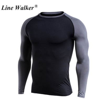 Long Sleeve Basketball Training Compression Tops