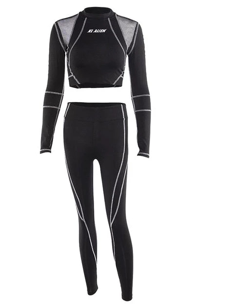 Wakanda activewear suit for women
