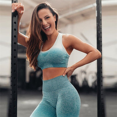 Women's Sexy Crop Top Vest Pants Set