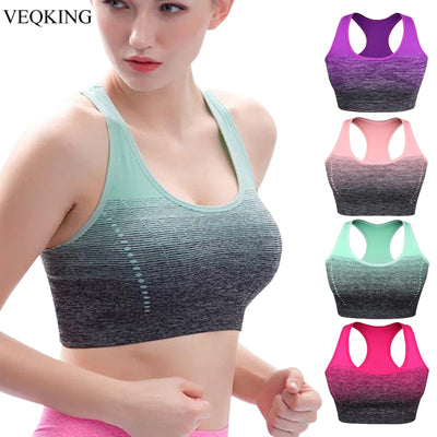 Quick Dry Padded comfortable running bra for Women