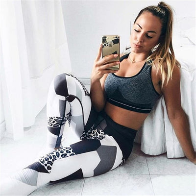 Women Tights High Waist print Leggings