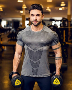 Men's Quick Dry Compression Short Sleeve T-Shirts