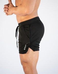 Men's compression training workout shorts quick dry