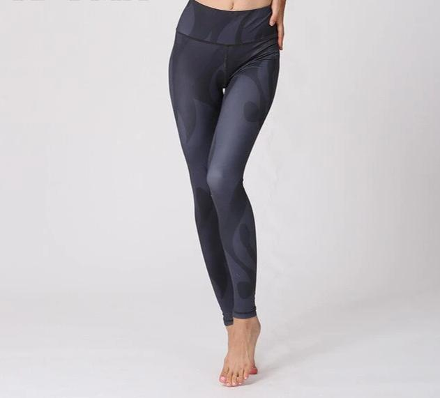 Women High Elastic Waist Thick Yoga Pants
