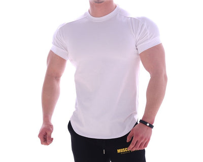 a-Gym tank tops men's Short Sleeve