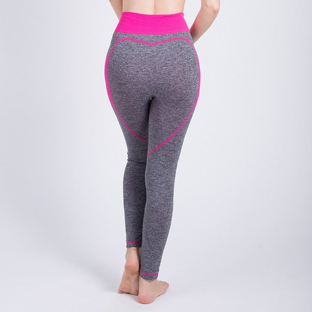 High Waist Elastic Seamless Quick Dry Workout Leggings