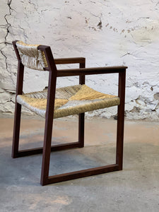 Walnut ranch chair