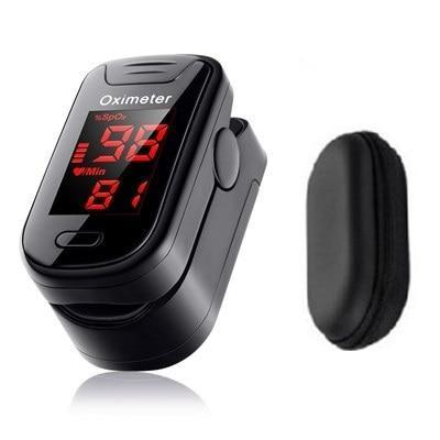 Pulse oximeter with cardiac frequency monitor