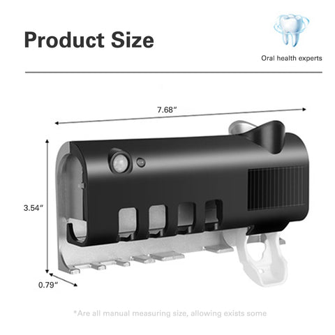 UV  Disinfectant Toothbrush  holder