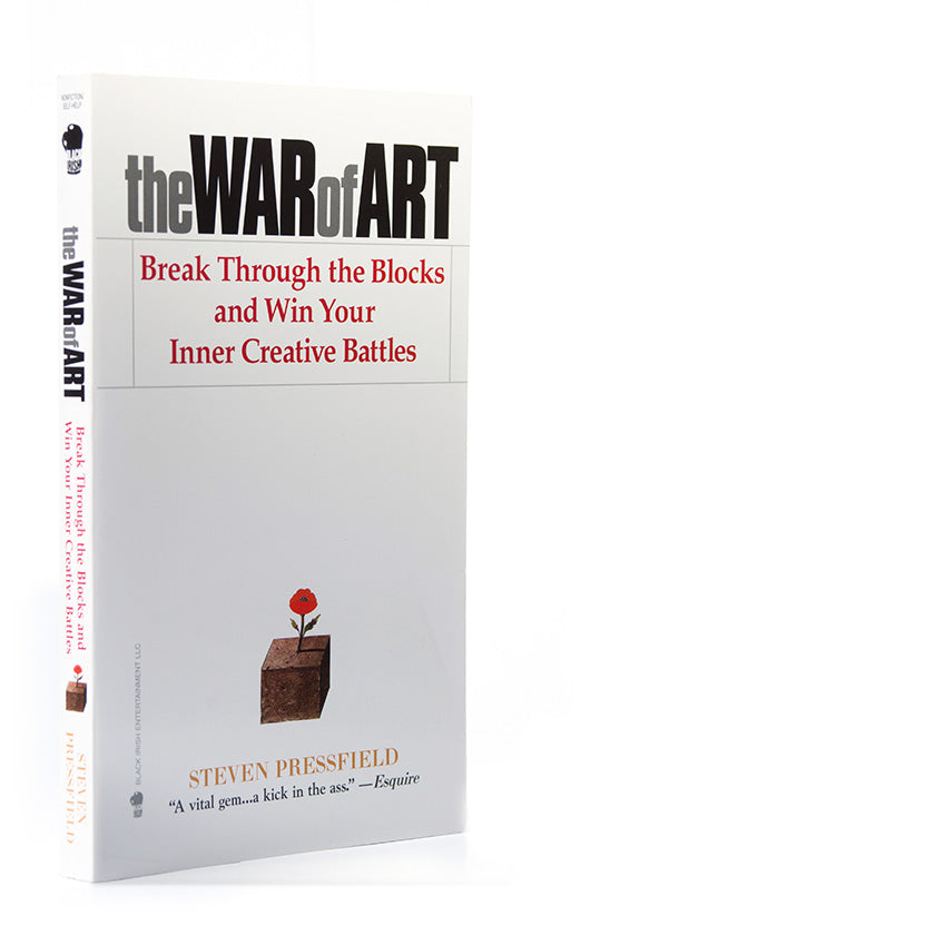 The War of Art Book cover