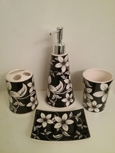 Load image into Gallery viewer, White Orchids Bathroom Accessory Set - watson-bathroom-accessories
