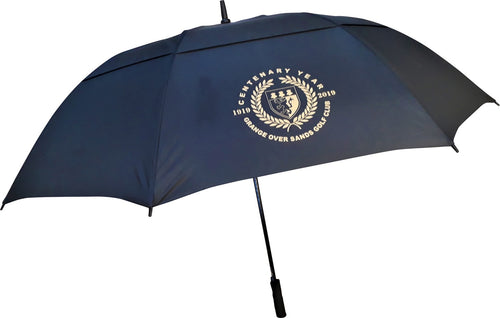 Ebony Double Canopy Vented Automatic Golf Umbrella