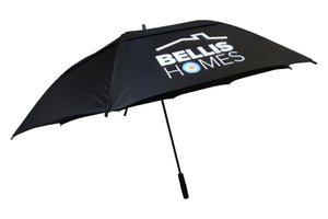 Gleneagles Automatic Opening Double Canopy Umbrella printed full colour on any panel. From £15.49 each.