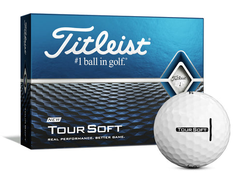 Titleist Tour Soft, Single Colour Print.