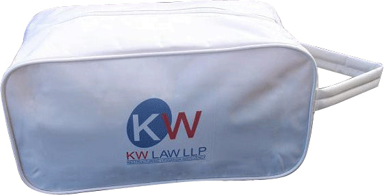 Full Colour Printed Nylon Shoe Bag