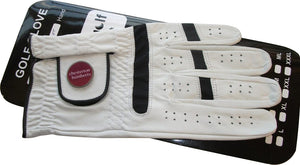 Leather Golf Glove with 2 Ball Markers