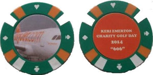Casino Chip Golf Ball Markers