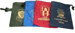 Nylon Drawstring Golf Goody Bag